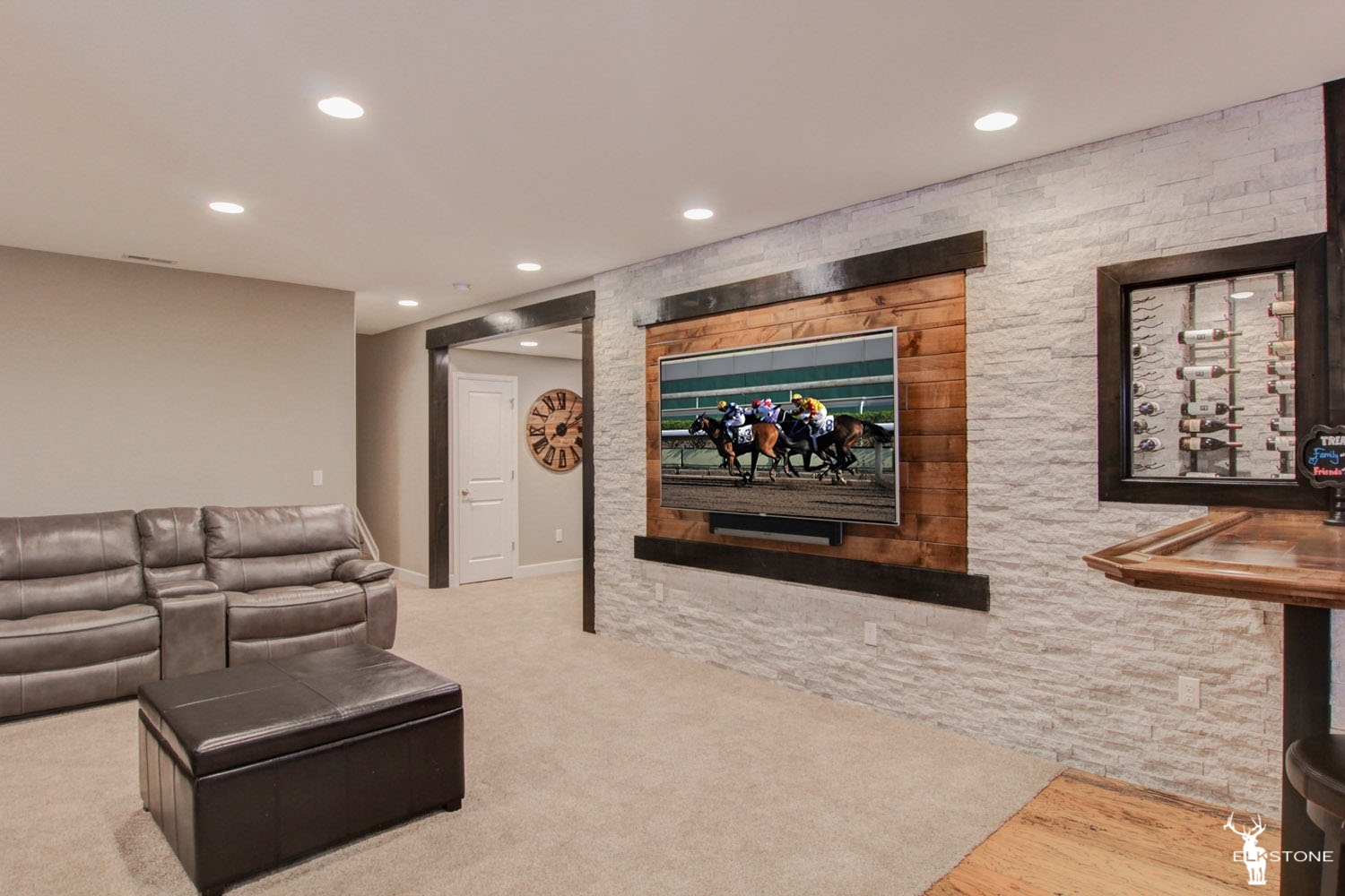 Thornton Basement Finish  ElkStone Basements