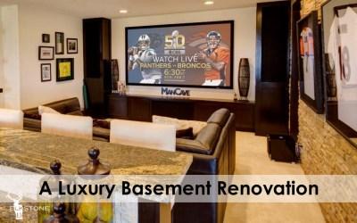 A Luxury Basement Renovation