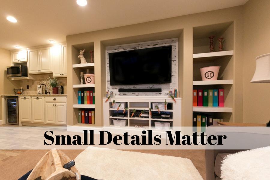 Small Details Matter
