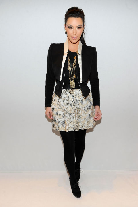 At the Charlotte Ronson fall 2011 show