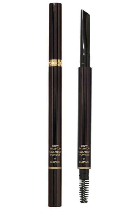 The Rolls-Royce of eyebrow pencils, this powdery pigment works to bulk up sparse spots, plus it really stays put. Brow Sculptor, $45; nordstrom.com