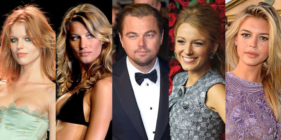 Image result for leo dicaprio and vs model