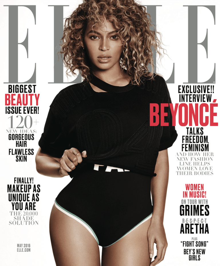 Beyonce ELLE May 2016 Cover