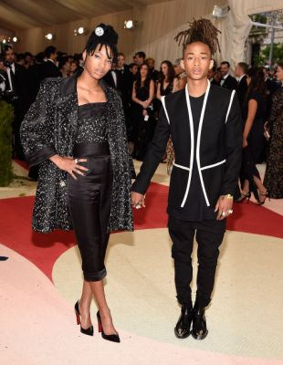 Willow Smith in Chanel and Jaden Smith in Louis Vuitton.