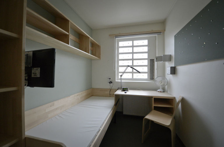 Swedish prison cell