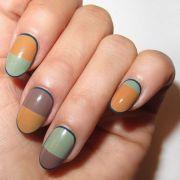 fall nail art design - 9