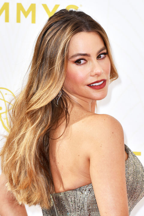 Sofia Vergara is a prime example of the classic brown-to-blonde ombré.