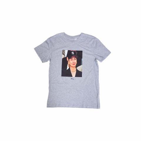 Trapvilla #HILLARYGRAYBRIM Tee, $35; shoptrapvilla.com