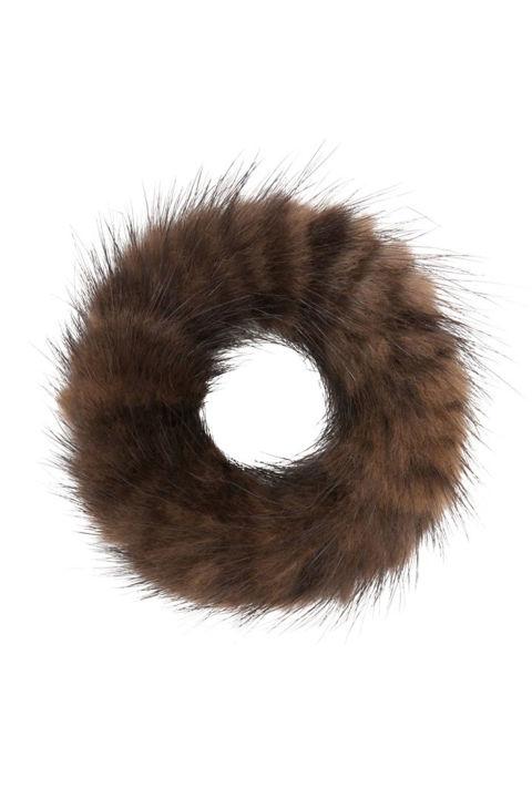 Ann Mashburn Mink Hairband, $25; annmashburn.com