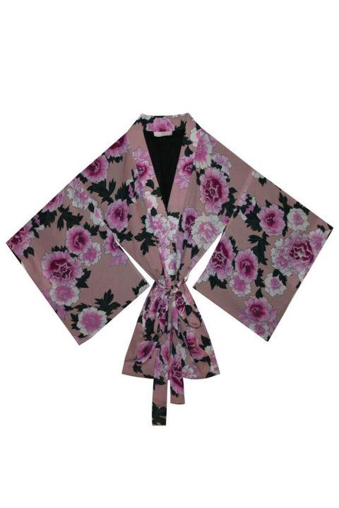 Fleur du Mal Haori Kimono, $595; fleurdumal.com