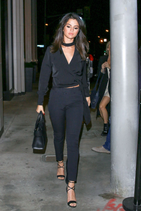 Arriving at Catch LA restaurant in West Hollywood.