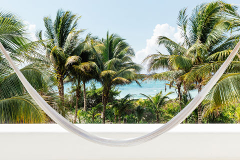 If it's a far-off tropical feel you're after, without actually being that far off, Tulum checks all the boxes. This go-to destination is a solid option for luxury resorts and idyllic beaches—it's more accessible than other similar warm-weather spots, yet more high-end and curated than some of its Mexican neighbors.