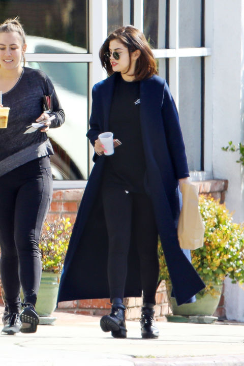 Out in Los Angeles.