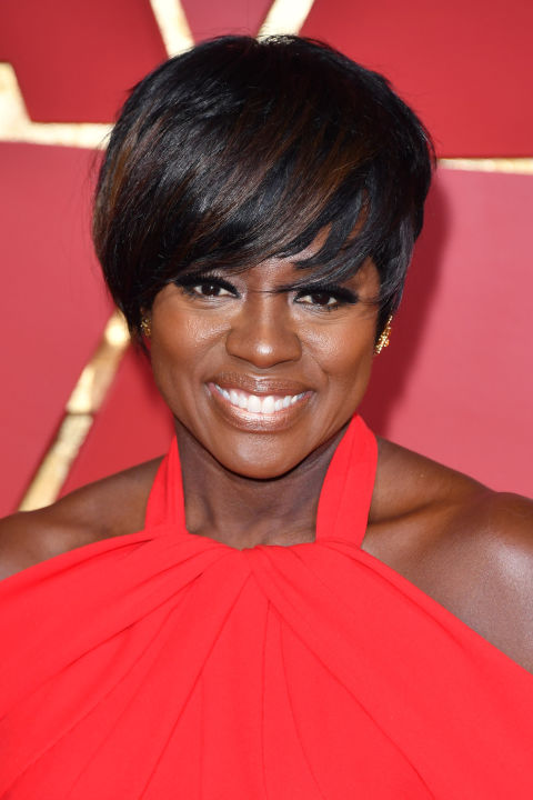 Viola Davis turns the pixie into an Oscar-winning hair look.
