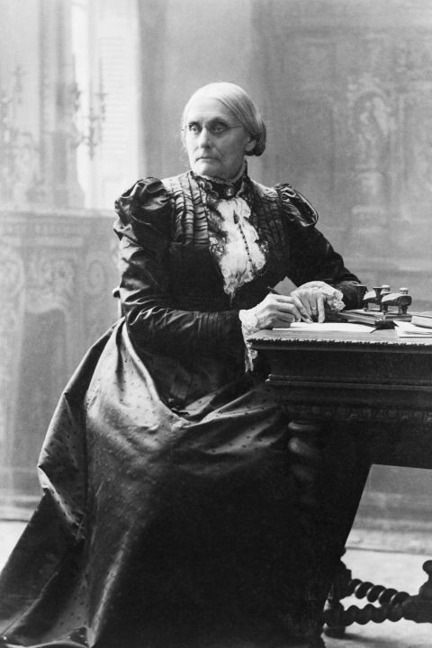 Earned women the right to voteSusan B. Anthony, an American social rights activists, was instrumental in a number of women's issues. Her work, which also included campaigning for equal rights for both women and African-Americans and working to abolish slavery, was extensive. Beyond the formation of the National American Woman Suffrage Association, Anthony and Elizabeth Cady Stanton collected signatures to petition Congress for the right to vote, urging politicians to consider an amendment to the Constitution. It wasn't until after Anthony's death that the 19th Amendment, also known as the Susan B. Anthony Amendment, was passed in 1919.