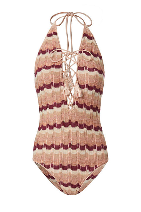 Suboo Ombre Knit One Piece Swimsuit, $250; intermixonline.com