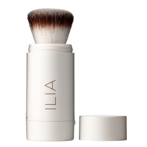 Here's three quick reasons this little number should be a travel pouch staple: It's compact, gives an extra layer of sun protection (it's SPF 20) , and works like an eraser on any grease.$34; iliabeauty.com