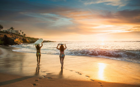 You'll want to visit SD with your BFFs — or, Best Fitness Friends. Why? Because it's one the top 10 fittest cities in America. With 26 miles of shoreline and 340 parks over 40,000 acres from Sunset Cliffs toLa Jolla, you can hike, bike, and swim to your heart's content. And don't forget to sign your whole squad up for beginner's surf lessons at the female-run Surf Diva. If your friends are the kind that love to 'gram their fitness adventures, stay at La Jolla's La Valencia, a fully pink, 1920s gem where Cary Grant used to stay.   RELATED:15 Solo Getaways Every Grown-Ass Woman Should Take