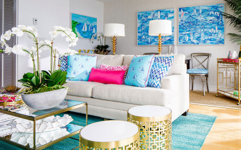 You're never too old for sleepover parties, especially when they take place at the Watch Hill Inn's Lilly Pulitzer Suite. Call up all your sorority sisters for a weekend getaway in the seaside hotel's cheerfully decorated room. Décor courtesy of the resort brand includes exclusive Lilly Pulitzer Bedding, Lilly Pulitzer bar accessories, and Lilly Pulitzer beach totes you can take with you when the fun is done. But if this sounds too much like your sorority house days, there are some grown-up perks, too, like a gas-burning fireplace, a fully equipped stainless steel kitchen, and a goose-down king-size bed. Spend your day riding one of the inn's limited edition Lilly Pulitzer x Martone bicycles to the beach and around town, then head back to your suite for a killer view of the sunset over Little Narragansett Bay from your own private terrace.BUY NOW