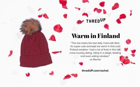 Rachel Lindsay's thredup last date hat
