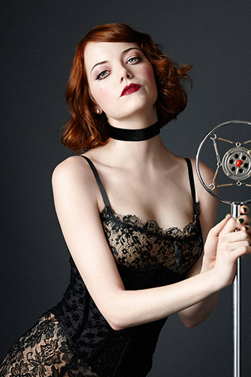 Here Is Emma Stone As Sally Bowles In Cabaret