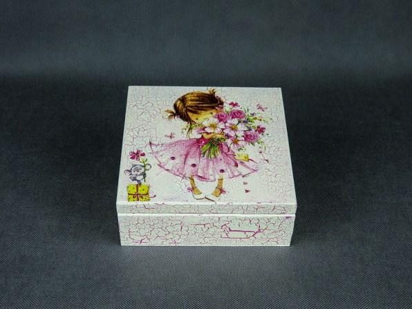 Pudełko - dziewczynka i mysz