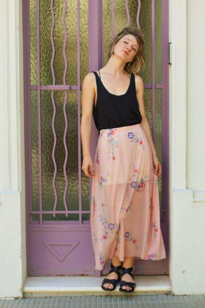 jupe longue Ibiza vaporeuse