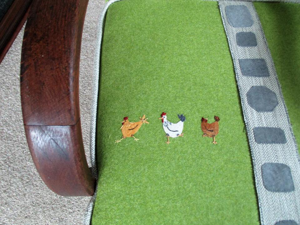 Portfolio: George's Chair