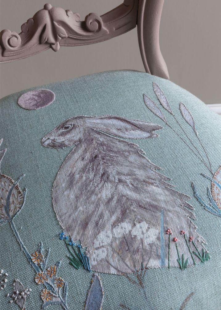 Moon Gazing Hare Chair