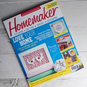 Homemaker issue 40, heart pattern by Ella Johnston
