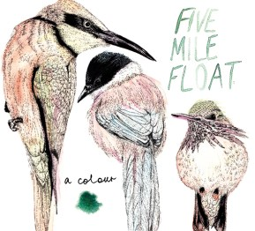 Album cover illustration for Five Mile Float