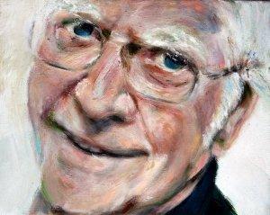 Portret van mijn vader geschilderd