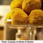 Indisch Geel pigment ballen