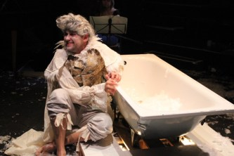 Eight Songs For A Mad King Arcola Theatre