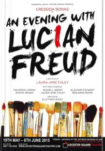 An Evening With Lucian Freud directed by Ella Marchment