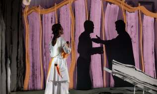 Tryl : Magic Flute Copenhaen Opera Festival 2018 Directed by Ella Marchment Phots by Olafur Gestsson
