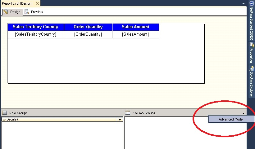 SSRS - How to Repeat Column Header on each Page of reports