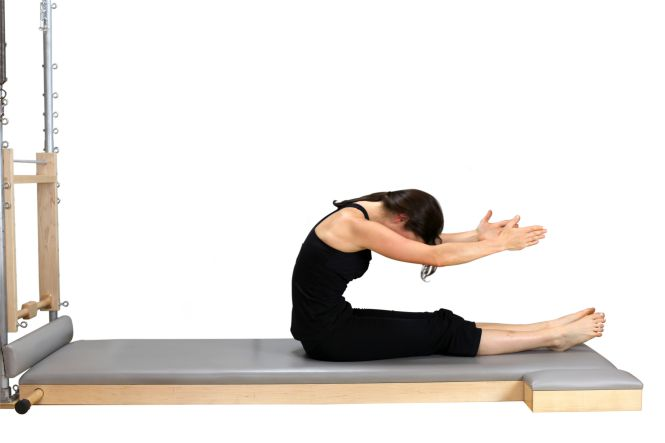 spine stretch forward pilates
