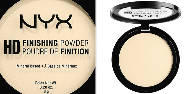 polvo translucido hd finishing powder nyx