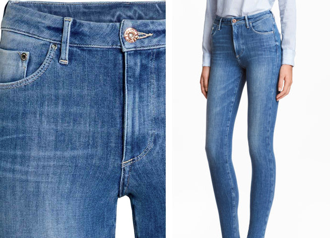 360° Shaping Skinny High Jeans