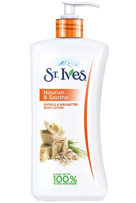 Nourish & Soothe Oatmeal & Shea Butter Body Lotion de St. Ives