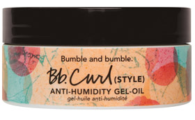 Gel-Aceite Antihumedad para rizos de Bumble and bumble