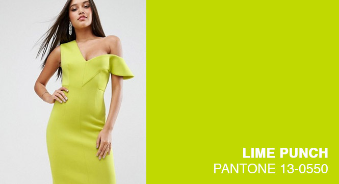 PANTONE 13-0550 - Lime Punch