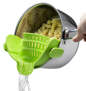 Escurridor Snap'n Strain de Kitchen Gizmo