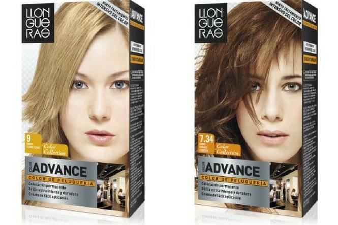 tintes de pelo Llongueras Color Advance