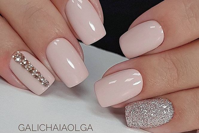 uñas de gel decoradas 10