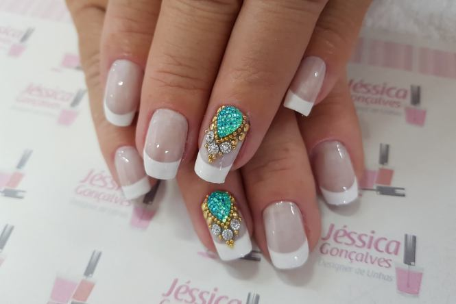 uñas de gel decoradas 3