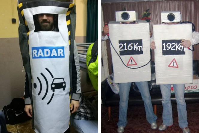 Disfraces de radar