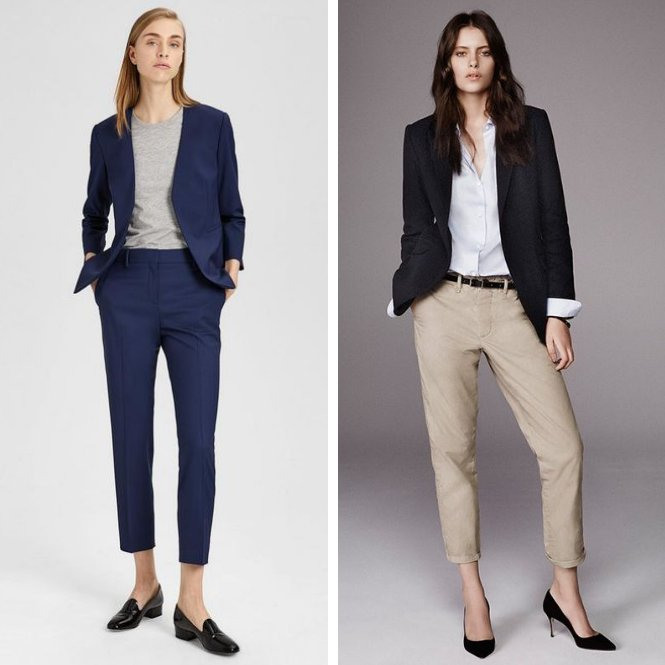 dress code business casual para entrevista de trabajo