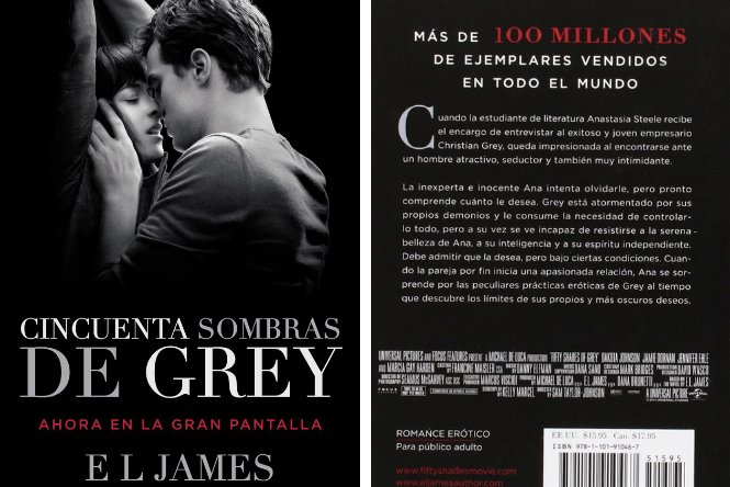 Cincuenta Sombras de Grey, E. M. James